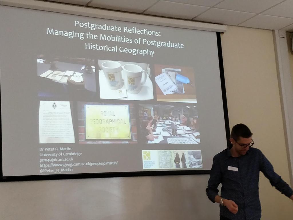 Postgraduate Reflections: Dr Peter Martin, University of Cambridge